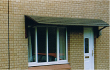 GRP Door Canopies from Capvond Plastics